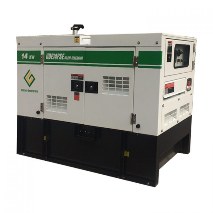 14 KW/14KVA Perkins Generator with 50 gallons fuel tank, Single Phase,  UDE14PSE, EPA Approved